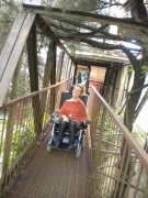 wheelchair;disabled;disability;female;woman;electric-wheelchair;access;accessible;travel;inclusive;australia;tasmania