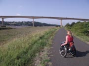 Young-man-in-wheelchair-exploring-the-Devon-countryside