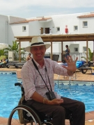 male;male;wheelchair;italy;Europe;pool;resort;hotle;accommodation;bar;tourist;travel