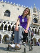 wheelchair;woman;disabled;disability;travel;tourist;accessible;tourism;inclusive-tourism;italy;venice