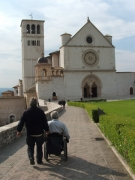wheelchair;travel;accessible;inclusive;access;man;male;disability;disabled;italy