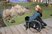 British-Columbia;Canada;Fraser-River;Granville-Island;Vancouver;disability;disabled;holiday;tourism;tourist;travel;wheelchair;woman