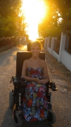 wheelchair;woman;female;disability;disabled;europe;montenegro
