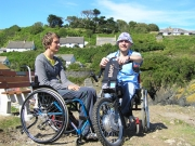 wheelchair;woman;holiday;accessible;inclusive;electric-wheelchair;viper;team-hybrid;female