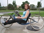 wheelchair;access;accessible;inclusion;woman;female;hand-cycle;training;marathon;florida;outdoor