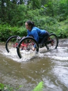 disability;outdoor;accessible;disabled;adventure;handcycle;offroad;reactiveadaptations;cycle;woman;female
