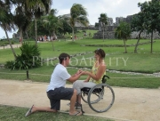 wheelchair;woman;female;disabled;disability;leisure;access;accessible;adaptive;travel;mexico;cruise