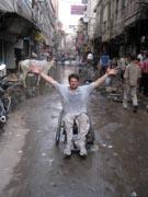 Man-in-wheelchair-in-downtown-Delhi