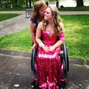 Girl-in-wheelchair-with-her-mom-ready-for-the-prom