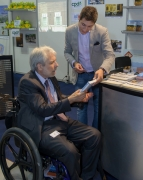 disability;conference;exhibition;wheelchair;male;man;Italy;Retech-2012;access;accessibility;accessible-tourism;inclusive-tourism;ability;Scott-Rains
