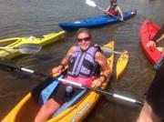 Young-woman-using-an-adaptive-kayak