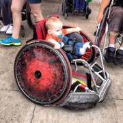 Wheelchair-Baby